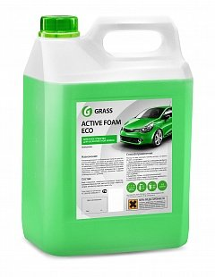 "Grass Активная пена ""Active Foam Eco"" (канистра 5,8 кг) Grass Средство по уходу за автомобилями ""Active Foam ECO"" (канистра 5,8 кг)"