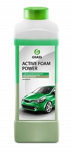 "Grass Активная пена ""Active Foam Power"" (канистра 1 л) Grass Средство по уходу за автомобилями""Active Foam Power"" (канистра 1 л)"