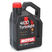 Motul 4100  Turbolight масло 10w40  /4L/