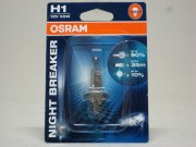 64150NBRбл H1 (55) P14.5s+90% NIGHT BREAKER (блистер) 12V OSRAM /1/10 HIT