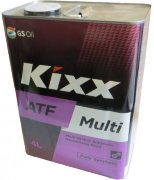 Kixx ATF Multi Plus 4L (мет. канистра)